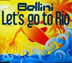 BELLINI ''Let's Go To Rio'' (4-track MCD) (2007 German press, 0184295KON LO:GO 19, matrix A796174-01 Optimal Media Production, mint/mint) (CD)
