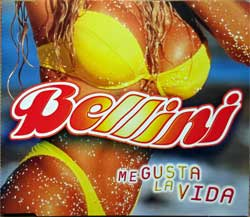 BELLINI ''Me Gusta La Vida'' (4-track MCD) (1998 Holland press, 8952592, matrix EMI UDEN 8952592 @ 1 1-1-2-NL, vg+/mint) (CD)