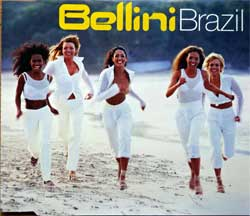 BELLINI ''Brazil'' (4-track MCD) (2001 German press, 0118565GAG, matrix A151326-01 Optimal Media Production, ex+/mint) (CD)