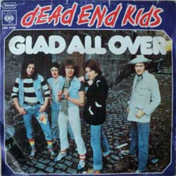 "винил LP DEAD END KIDS ""Glad All Over - Last Night In China Town"" (7""single) (1977 German press, vg+/vg+, wobc)"