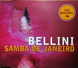 "BELLINI """"Samba De Janeiro'' (4-track MCD) (1997 German press, 8943312, matrix 573 979-2 01/Made in Germany by PMDC, vg+/mint) (CD)"