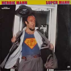винил LP HERBIE MANN ''Super Mann'' (1978 German press, ATL 50 569, ex-/ex-)
