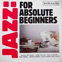 винил LP va JAZZ FOR ABSOLUTE BEGINNERS (1986 German press, NL 89874, mint/ex+)