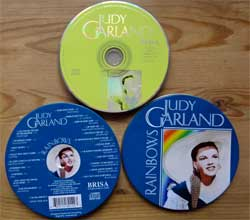 CD IN METAL BOX: JUDY GARLAND ''Rainbows'' (1998 EEC (UK) press, 48014-2BD, matrix 48014-2BD BRISA UK LTD, ex+/ex) (CD)