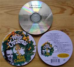 CD IN METAL BOX: BING CROSBY ''White Christmas'' (1995 UK press, bonus-tracks, 47 477-2, marix OPTI.ME.S. 991950137594 1739-A, mint/ex+) (CD)