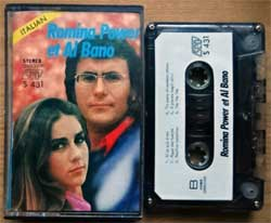 аудиокассета AL BANO & ROMINA POWER ''Romina Power et Al Bano'' (1981 Singapore RARE press, Japanese tape, shell & case, Dolby, S 431, mint/near mint) (MC4637)