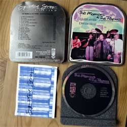 CD IN METAL BOX: MAMAS & PAPAS ''California Dreaming'' (Signature Series/Music In The Can)'' (1994 German RARE press, booklette, WZ 98018, matrix 2xDanDisc WZ 98018 94111515, mint/ex)  (CD)