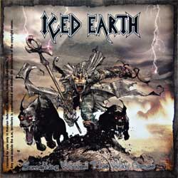 ICED EARTH ''Something Wicked This Way Comes'' (1998 RI 2002 Russian press, FO173CD, mint/mint) (CD)