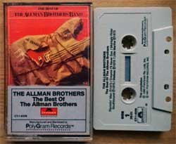 аудиокассета ALLMAN BROTHERS BAND ''The Best Of Allman Brothers Band'' (1981 USA press, CT-1-6339, mint/mint) (MC4660)