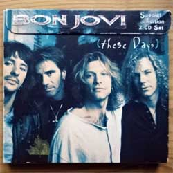 BON JOVI ''These Days'' (1995 France press, special edition 2 CD Set, 528 248-2/532 645-2, matrixes PMDC France, ex+/ex/mint/vg) (digipak) (CD)