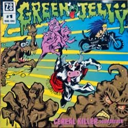 GREEN JELLY ''Cereal Killer Soundtrack'' (1993 German press, 72445110382, matrix PMDC, vg+/near mint) (CD)