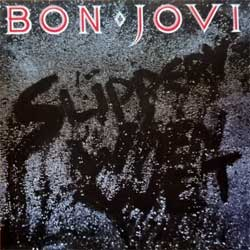 BON JOVI ''Slippery When Wet'' (1986 France press, 830 264-2, matrix 830 264-2 08/1AD1, vg+/mint) (CD)