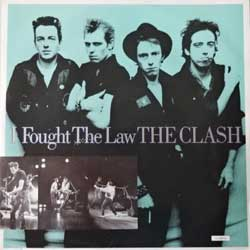 винил LP CLASH ''I Fought The Law'' (4-track 12'') (1988 UK press, CLASH T1, ex+/ex+)