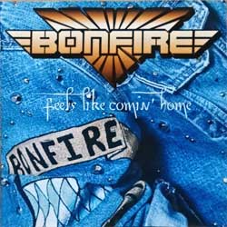 BONFIRE ''Feels Like Comin' Home'' (1996 German press,  800011/CD 00011, matrix S PANT 185 AY 8 01, ex-/near mint) (CD)