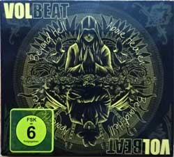 VOLBEAT ''Beyond Hell/Above Heaven'' (2010 EU press, limited edition, 0602527477534, matrixes Sony DADC, ex/ex) (digipak) (CD+DVD)