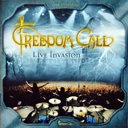 FREEDOM CALL ''Live Invasion'' (2004 Russian press, SPV 085-74842 2CD, ex-/mint) (2xCD)