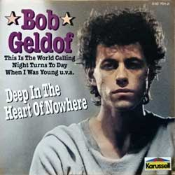 BOOMTOWN RATS (BOB GELDOF) ''Deep In The Heart Of Nowhere'' (1986 RI German press, 510 701-2, matrix 510 701-2 01> made in Germany, vg+/mint) (CD)