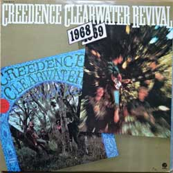 винил LP CREEDENCE CLEARWATER REVIVAL ''1968-1969 (Creedence Clearwater Revival'' & ''Bayou Country'')'' (2LP-gatefold) (1968/1969 RI 1978 Portugal press, laminated, 2LP = 2 original albums, FAN 96-4/5, ex/ex+)