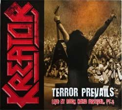 KREATOR ''Terror Prevails: Live At Rock Hard Festival, Pt.2'' (2012 German RARE PROMO press, near mint/ex+) (digipak) (CD)