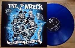 винил LP ASTRO ZOMBIES (THE WRECK) ''Sailors Grave'' (2018 German press, clear BLUE vinyl, CLLP64389, mint/mint, new)