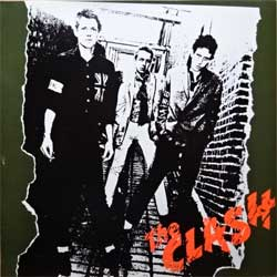 винил LP CLASH ''The Clash'' (1977 RI 80's Holland press, red labels, 32232, near mint/ex+)