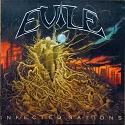 EVILE ''Infected Nations'' (2009 Russian press, MOSH377CD, mint/mint) (CD)