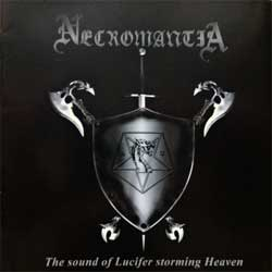 NECROMANTIA ''The Sound Of Lucifer Storming Heaven'' (2008 Russian press, DY 100666, mint/mint) (CD)