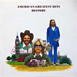 AMERICA ''America's Greatest Hits History'' (1975 RI 1986 German press, 256 169, matrix 256169 @ 3, vg/mint) (CD)