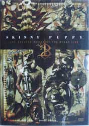 SKINNY PUPPY ''The Greater Wrong Of The Right Live'' (2DVD) (2005 Soyuz press, cardbpard case, new, sealed) (CD)