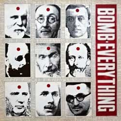 винил LP BOMB EVERYTHING (BOMB DISNEYLAND, DEEP THROAT) ''Fountain Head'' (4-track 12'') (1992 UK press, 12DVN 102, mint/ex)