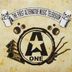сборник A-ONE RECORDS: The First Alternative Music Television (CD+DVD) (2008 A-One RARE PROMO press, gatefold cardboard sleeve, 52-pages booklette, mint/mint, new) (CD)