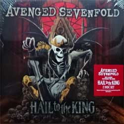 винил LP AVENGED SEVENFOLD ''Hail To The King'' (2LP-gatefold) (2013 EU press, original sticker, 9362-49431-0, new, sealed)