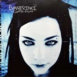 EVANESCENCE ''Fallen'' (2004 EU press, 5108799, mattrix Sony Music S5108799000-0101 13 A15, vg+/mint) (CD)