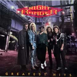 NIGHT RANGER ''Greatest Hits'' (1989 USA press, 2 bonus-tracks, MCAD-42307, matrix DIDX-008519 1, ex/mint) (CD)