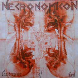 NECRONOMICON ''Construction Of Evil'' (RARE limited edition press) (CD)