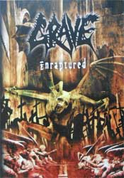 GRAVE ''Enraptured'' (CD-Maximum press) (DVD)