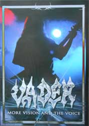 VADER ''More Vision And The Voice'' (CD-Maximum press) (DVD)