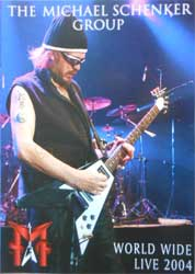 MICHAEL SCHENKER GROUP ''World Wide Live 2004'' (CD-Maximum press) (DVD)