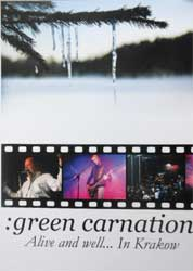 GREEN CARNATION ''Alive And Well… In Krakow'' (CD-Maximum press) (DVD)