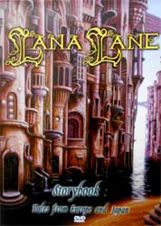 LANA LANE ''Storybook: Tales From Europe And Japan'' (CD-Maximum press) (DVD)