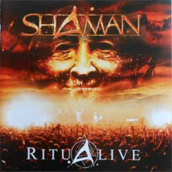 SHAMAN ''RituAlive'' (CD-Maximum press) (CD)