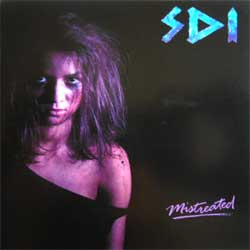 S.D.I. ''Mistreated'' (RARE limited edition press) (CD)