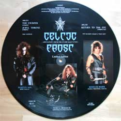 "винил LP CELTIC FROST ""Tragic Serenades"" (3-track 12"") (picture-disc) (1986 RARE German press, limited edition, ex-)"