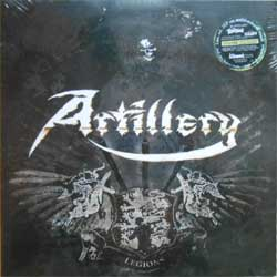 винил LP ARTILLERY ''Legions'' (2LP-gatefold) (2013 German press, limited edition 150 copies on MULTI-COLOURED vinyl, copy # 111, heavy 180 gr vinyl, 2 bonus tracks, new, sealed)