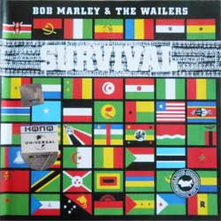 BOB MARLEY & THE WAILERS ''Survival'' (2003 Russian press) (CD)