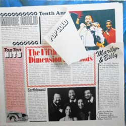 "винил LP 5TH DIMENSION  ""Pop Gold - The 5th Dimension"" (1975 German press, RARE club edition, ex+/ex)"
