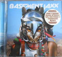 BASEMENT JAXX ''Scars'' (2009 Soyuz press, sealed) (CD)