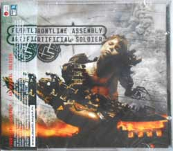 FRONTLINE ASSEMBLY ''Artificial Soldier'' (2006 Soyuz press, with obi, sealed) (CD)