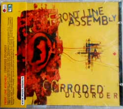 FRONTLINE ASSEMBLY ''Corroded Disorder'' (1995 RI 2006 Soyuz press, with obi, sealed) (CD)