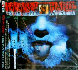 FRONTLINE ASSEMBLY ''Hard Wired'' (1995 RI 2006 Soyuz press, with obi, sealed) (CD)